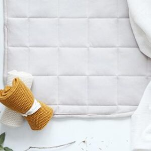 Change Mats/Pads + Covers Baby Change Mat in Natural/Navy