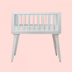Bassinets, Cradles + Co-Sleepers Maxwell Bassinet in White
