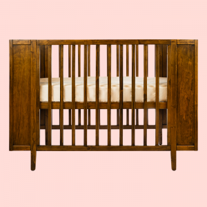 Cots PRE ORDER   Maxwell Cot in Walnut