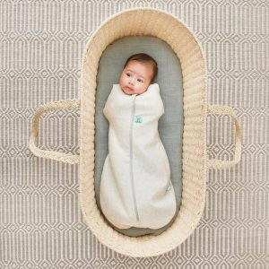 Sleeping Bags + Sleep Suits ergoPouch Cocoon Swaddle Bag 0.2 TOG Grey Marle