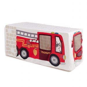 Cubby Houses Fire Truck and Station Table Tent