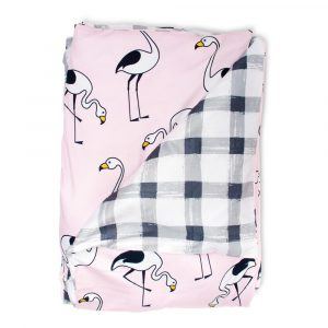 Quilts Flamingo Pink Quilt Cover