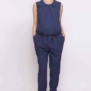 Bottoms Fleur Toggle Pant in Navy