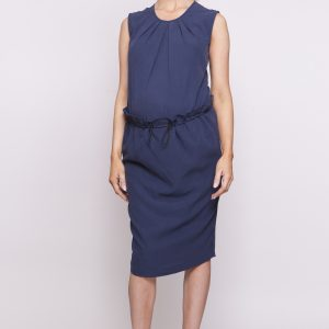 Bottoms Fleur Toggle Skirt in Navy