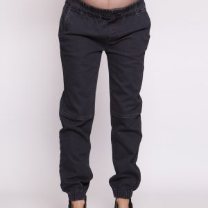 Bottoms To The Max Denim Pant in Black