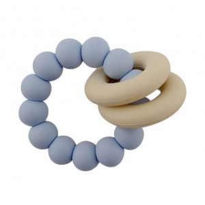 Teethers Halo Teether in Light Blue