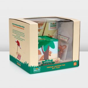 Educational Mizzie The Kangaroo Toddler Learning Time Gift Pack