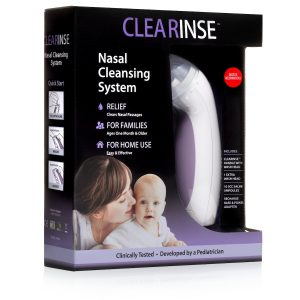 First Aid Clearinse Electric Nasal Aspirator (Additional Saline Drops Sold Separately)