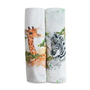 Swaddles + Baby Wraps I Dream of Africa Twinset Organic Cotton/Bamboo Swaddles 21