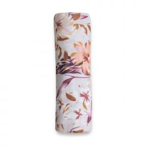 Swaddles + Baby Wraps Floral Delight Organic Cotton/Bamboo Swaddle