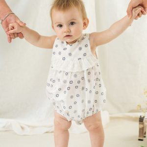 Rompers + Playsuits Organic Cotton Sweetheart Baby Girl Romper 21