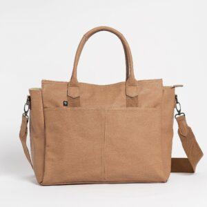 Bags The Hayes Baby Bag Tote in Cappuccino