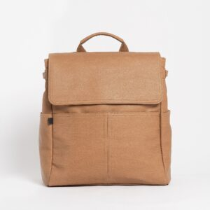 Bags The Hayes Baby Bag Backpack in Cappuccino