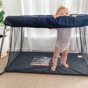 Portacots Playyard And Travel Cot (Inside + Outside Play)