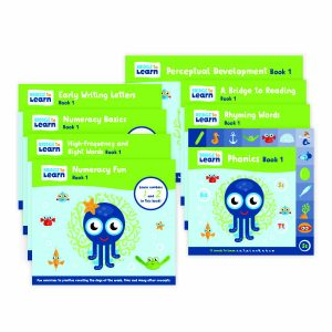Books Learning Activity Books: Stage 1