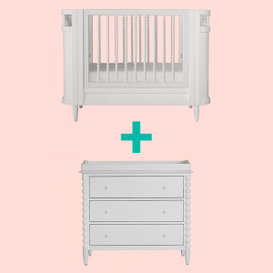 Beds PRE ORDER | Incy Interiors Spindle White Bundle