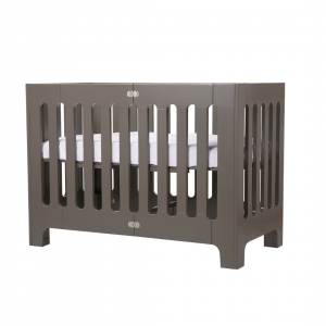 Cots Alma Papa Cot in Frost Grey