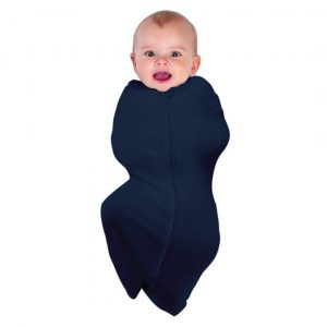 Sleeping Bags + Sleep Suits Swaddlepouch Organic Cotton Navy 0-3m