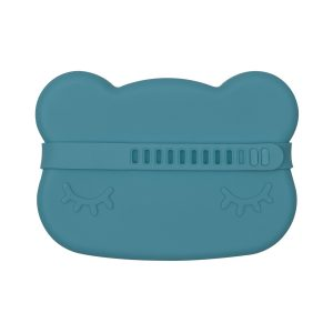 Lunch Boxes + Bags Bear Snackie – Blue Dusk