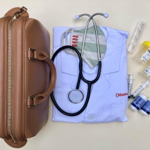 Kids Brown Doctor Bag Kit