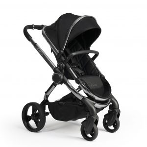 Double Prams + Strollers iCandy Peach 2020 in Black Twill