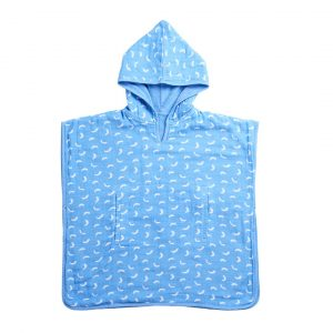 Towels + Face Washers Dashes Organic Cotton Hooded Towel