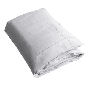 Quilts 100% Linen Single Quilt Set in Silver