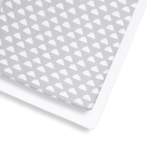 Cot Sheets Snuz SnuzKot 2 Pack Cot & Cot Bed Fitted Sheet