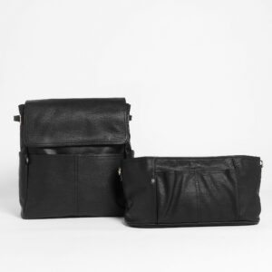 Bags BUNDLE | The Hayes Backpack Parent Pack in Black RRP $268