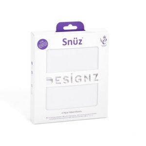 Cot Sheets SnüzPod 2pc Fitted Sheet Set