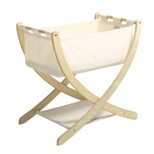 Bassinets, Cradles + Co-Sleepers Seed Organic Cotton Bassinet