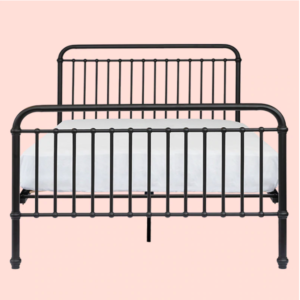 Beds PRE ORDER   Ralph Double Bed in Matte Black