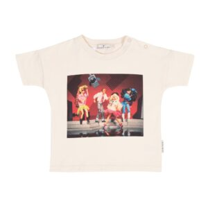 Girls Tops Barbie™ and the Rockers Dance Off T-Shirt Vintage White