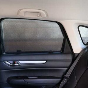 Mazda CX-5 2nd Generation Rear Doors and Port Car Window Sun Shades (KF; 2017-Present)