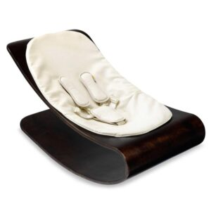 Best Sellers Coco Stylewood Cappuccino Frame with Coconut White ORGANIC Seat Pad