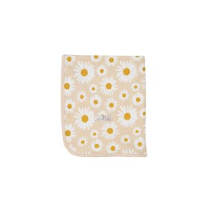 Swaddles + Baby Wraps Daisy Cotton Jersey Baby Wrap Buttercream