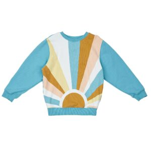 Baby Tops Sunrise Relaxed Sweater Surf