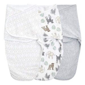 Swaddles + Baby Wraps Essentials Wrap Swaddle 3pack in Toile 0-3 months