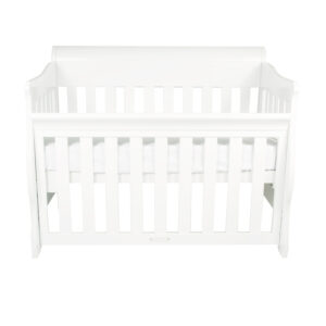 Amani Sleigh Cot & Breath Eze Mattress Package
