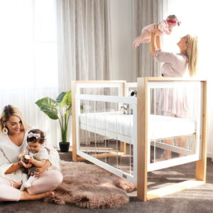 Kaylula Bella Cot & Breath Eze Mattress Package