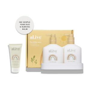 Baby Skincare Baby Duo (Hair/Body Wash & Lotion + Tray – Gentle Pear) + Nursing Balm 21