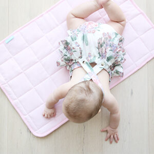 Change Mats/Pads + Covers Baby Change Mat in Light Pink