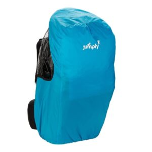 adventure baby carrier rain cover blue