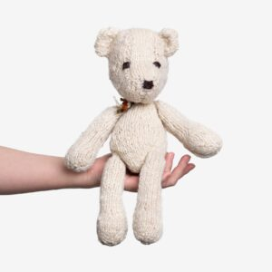 Soft Toys Bear – Handknitted, Eco-friendly