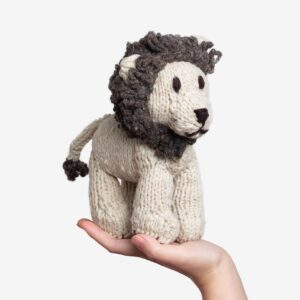Soft Toys Lion – Handknitted, Eco-friendly