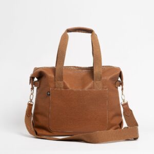 Nappy Bags The Hilton Carryall Baby Bag in Tan