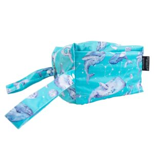 Ethereal Whales Travel Wet Bag
