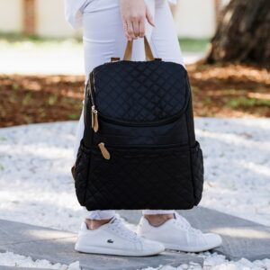 Nappy Bags PRE ORDER    Essential Nappy Backpack in Black