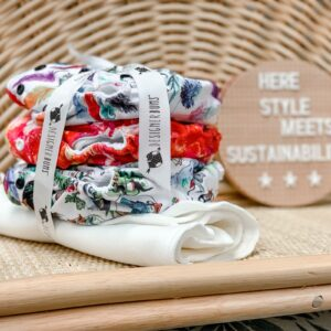 Bath + Changing Reusable Cloth Nappy Trial Pack 21