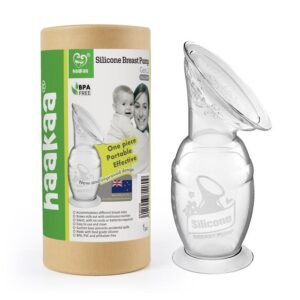 Breast Pumps + Accessories Haakaa Silicone Breast Pump with Suction Base